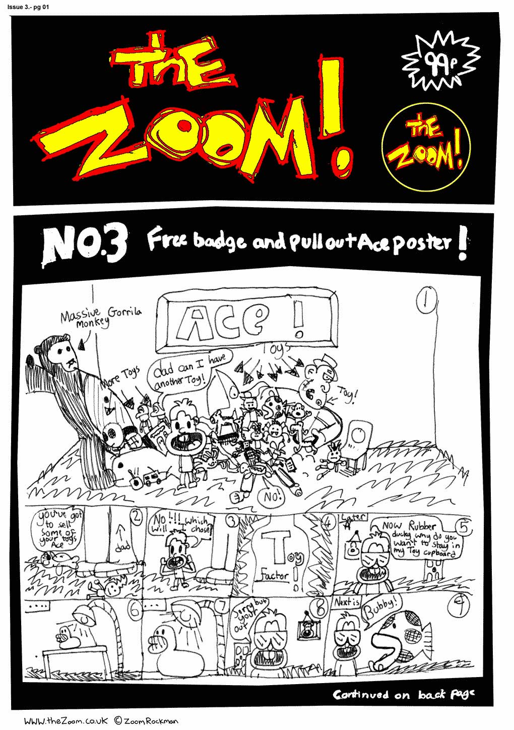 The Zoom! - Issue 03 - Page 1