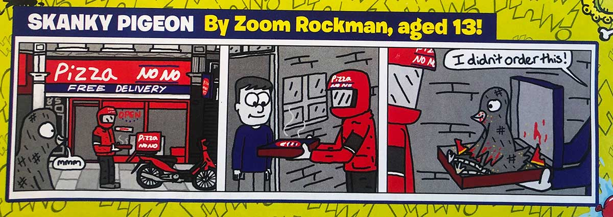Skanky Pigeon - by Zoom Rockman