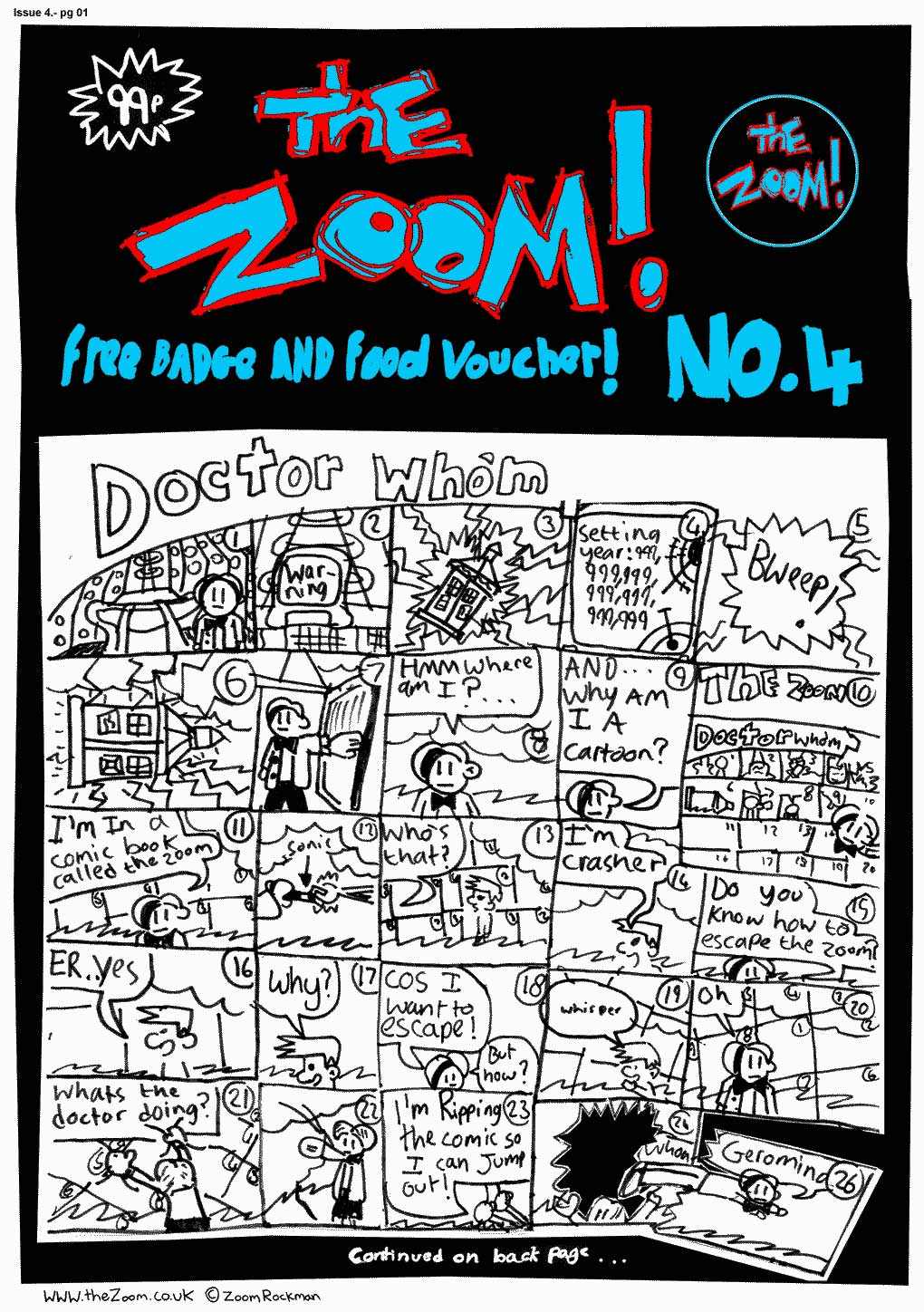 The Zoom! - Issue 04 - Page 1