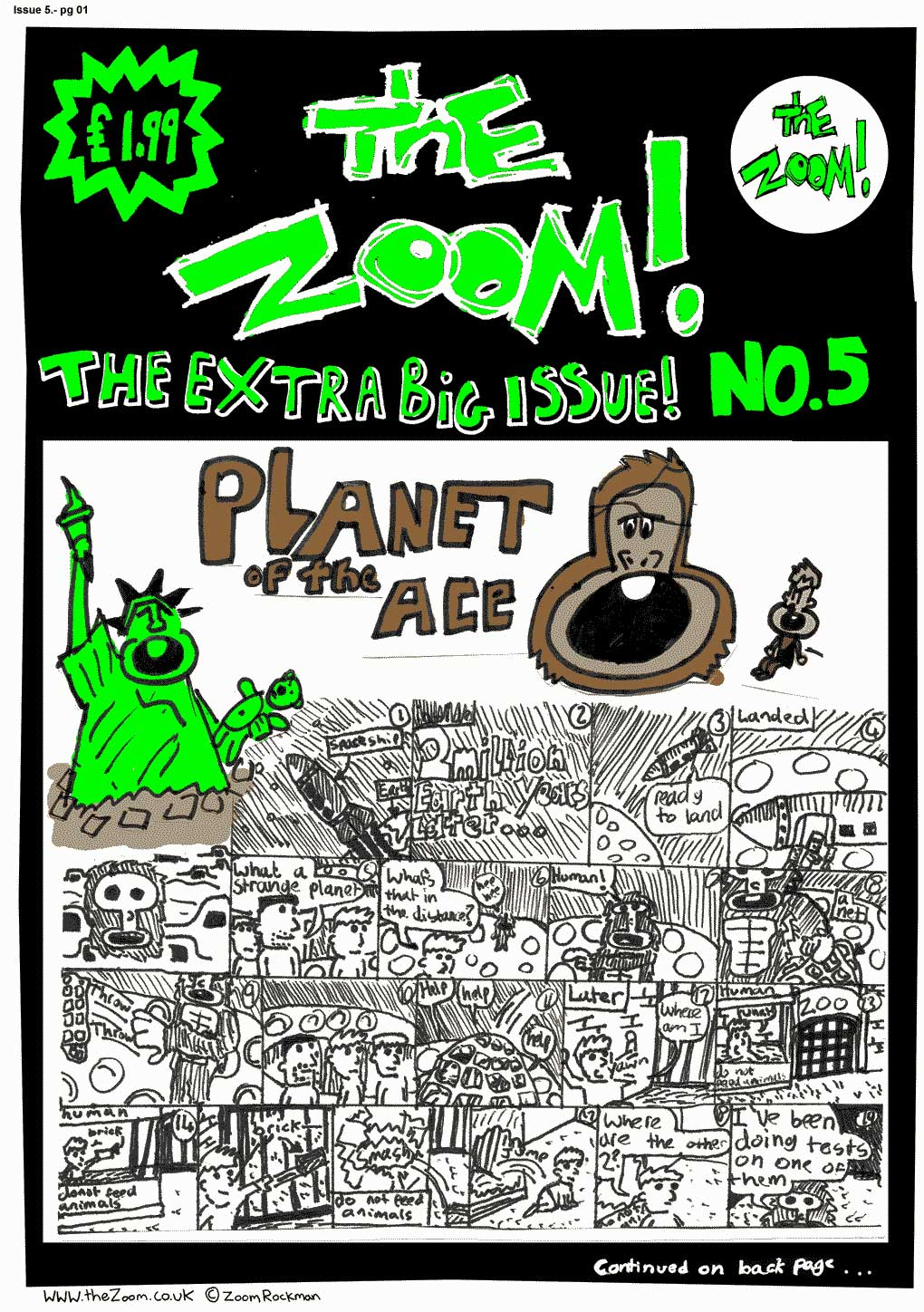 The Zoom! - Issue 05 - Page 1
