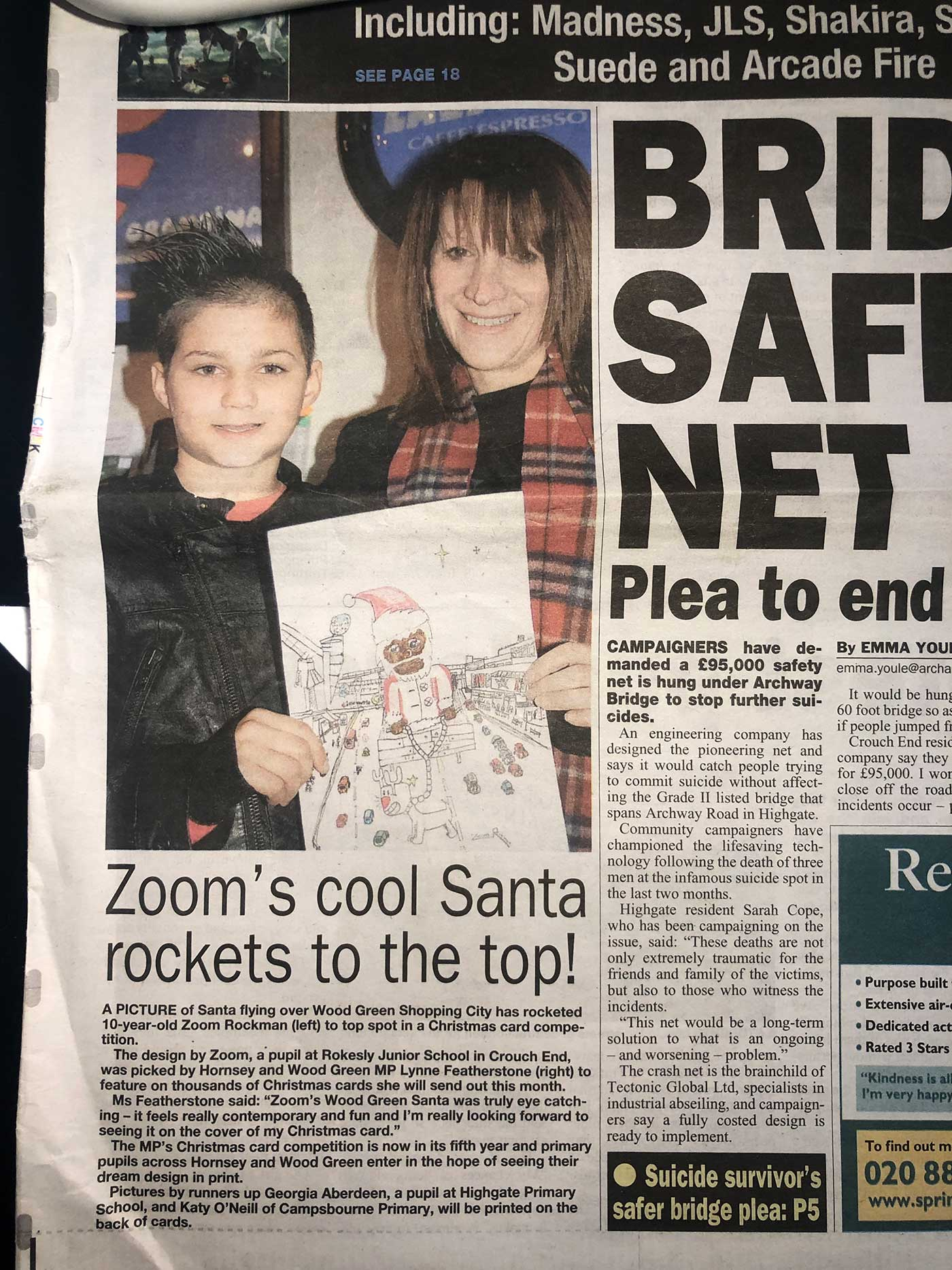 Hornse Journal featuring Zoom's Cool Santa