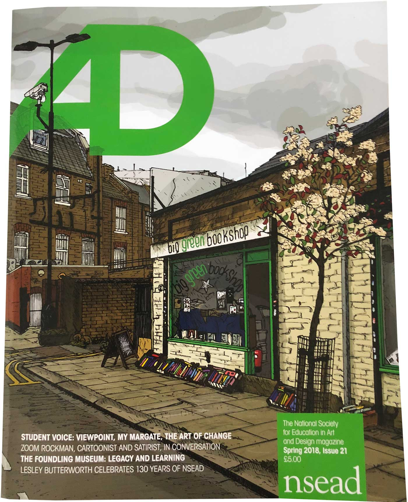 The National Society for Education in Art and Design Magazine