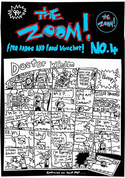 The Zoom! - Issue 4 - Zoom Rockman