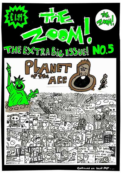 The Zoom! - Issue 5 - Zoom Rockman