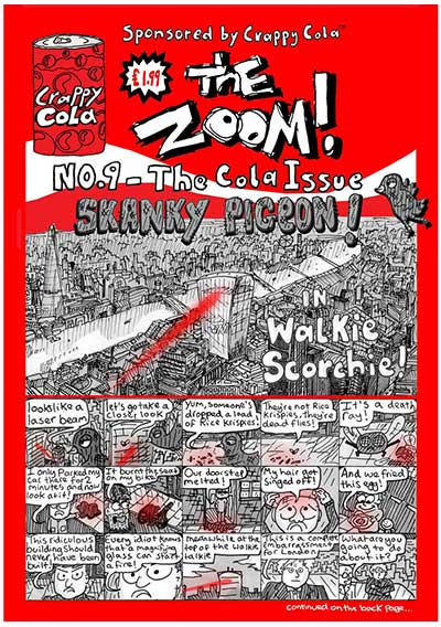 The Zoom! - Issue 9 - Zoom Rockman